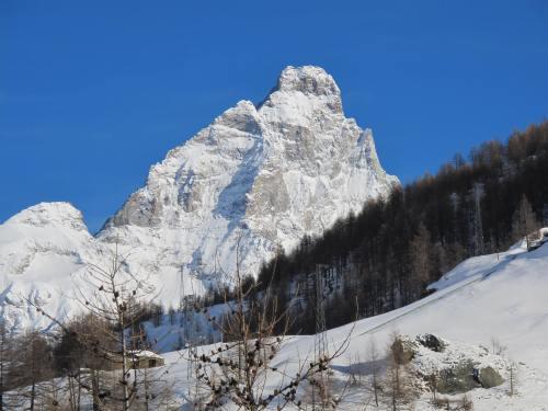 Monte Cervino (= Matterhorn von der Südseite)