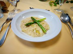 Graupen-Spargel Risotto